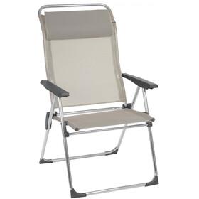 Lafuma Mobilier Alu Cham XL Camping Chair with Cannage Phifertex seigle
